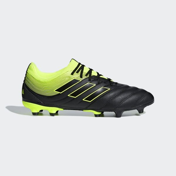 X 19.3 Firm Ground Football Boot Black