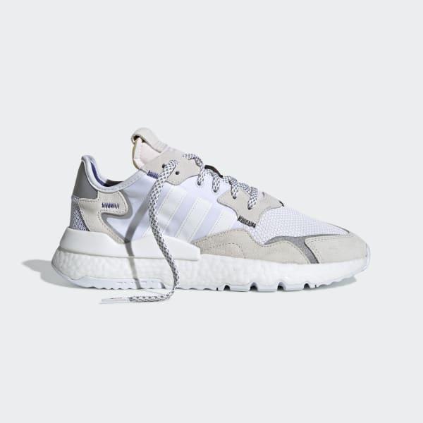 Chaussure Nite Jogger Blanc adidas | adidas France
