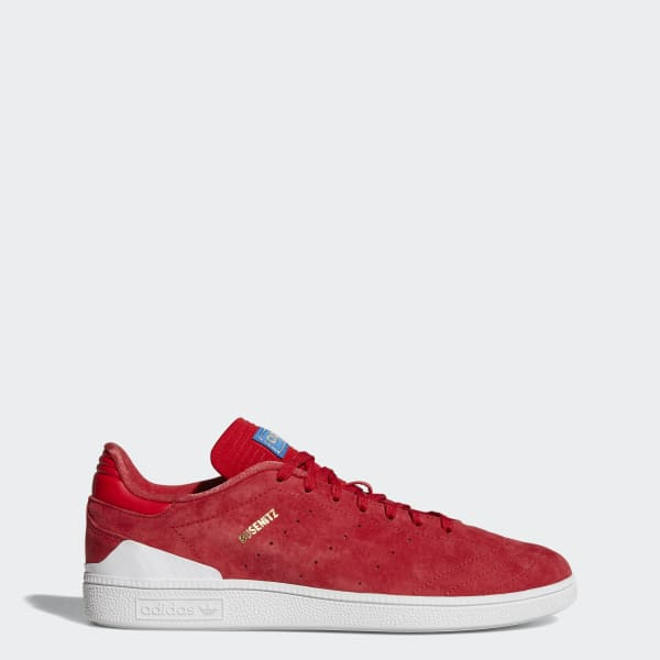 Adidas Busenitz RX Scarlett Red White Gold Sz 10 BY4097