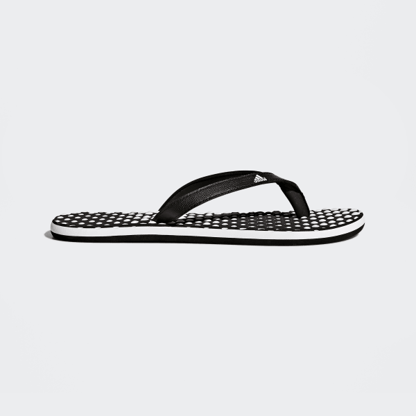 cheaper 2e186 1f249 Eezay Dots Flip-Flops Cloud White  Core Black  Core Black B23738