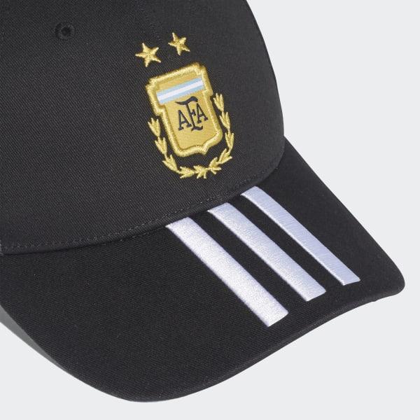 eb5e55fc221 adidas Argentina 3-Stripes Cap - Black