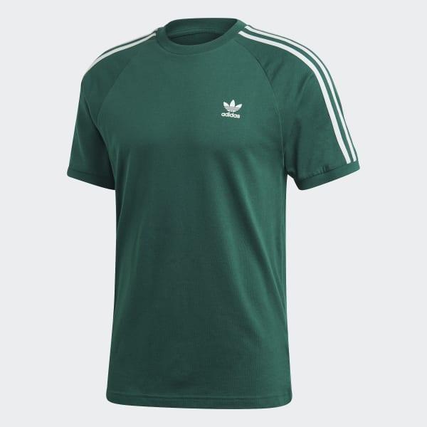Adidas 3 Stripes Tee Green Adidas Us