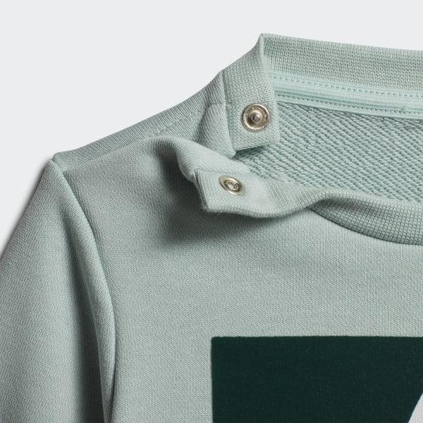adidas Originals Joggedress Crew Sweatshirt Set Grønn