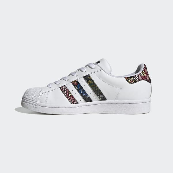 famous footwear white adidas