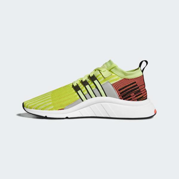 35f1f6547c7 wholesale adidas eqt support mid adv primeknit sko gul adidas denmark 7251c  bd9dc