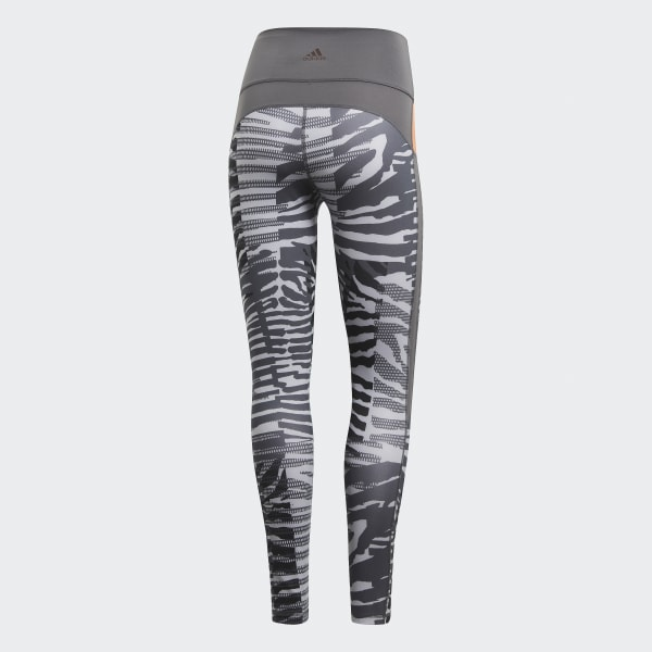 adidas Believe This Iteration High Rise 78 Tights Grå | adidas Norway