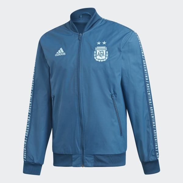 adidas Men's AFA Argentina Anthem Jacket Midnight