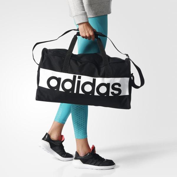 4078fe1d297006 adidas Linear Performance Duffel Bag Medium - Black | adidas Australia