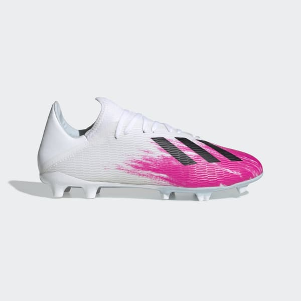 adidas X 19.3 Firm Ground Boots - White