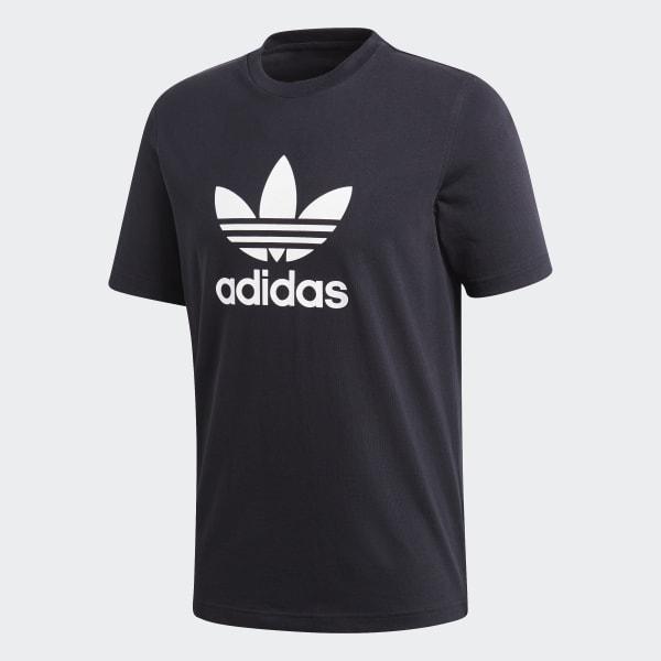 adidas Trefoil T shirt Zwart | adidas Officiële Shop