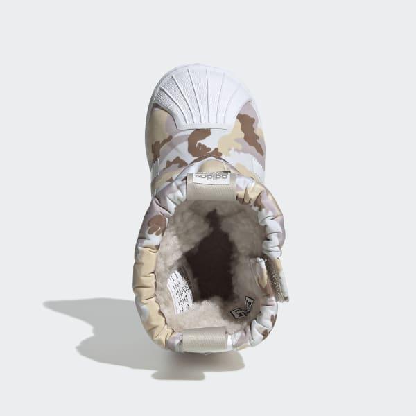 adidas Superstar Winter Boots - White