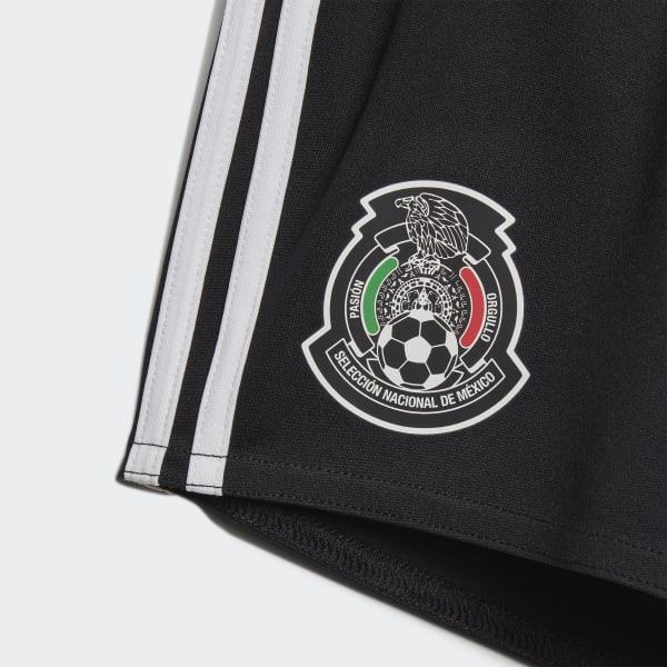 ff9ba9e8bfe87 adidas Conjunto Bebé Uniforme Titular Selección de México 2019 - Negro