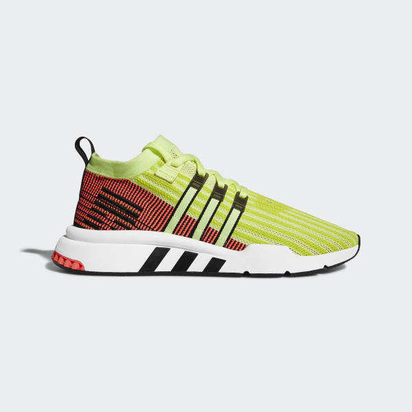 pretty nice f65c7 8143c adidas EQT Support Mid ADV Primeknit Shoes - Yellow | adidas New Zealand