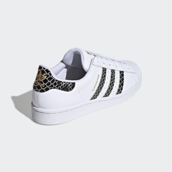 Adidas adidas sneakers superstar W SUPERSTAR W footwear white core black gold metallic FV3294