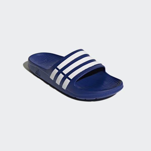 new product 400df b5610 adidas Duramo Slides - Blue  adidas Canada
