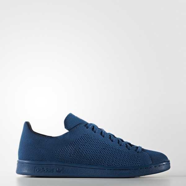adidas stan smith primeknit shoes blue adidas uk. Black Bedroom Furniture Sets. Home Design Ideas