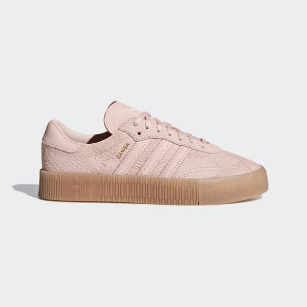 adidas Originals Baskets Sambarose Bordeaux Femme