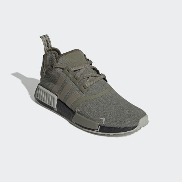 Men's NMD R1 Legacy Green and Grey