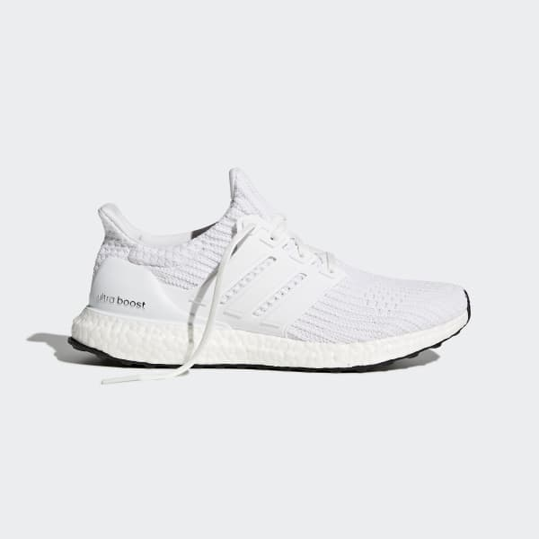 adidas boost sko all hvit