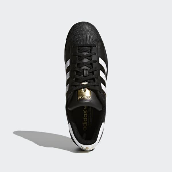 7e9e41306bf8 adidas Superstar Foundation Shoes - Black