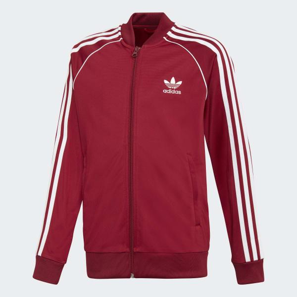 d8437757e33bc Chaqueta SST - Rojo adidas