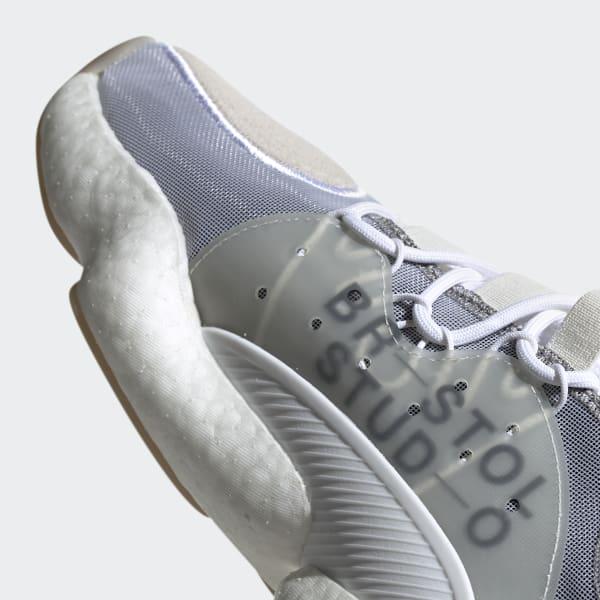 17d5bcdf199 adidas Bristol Crazy BYW LVL II Shoes - White