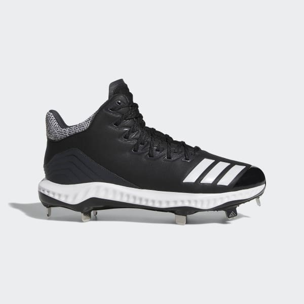 adidas Icon Bounce Mid Cleats - Black