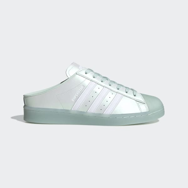 adidas Superstar Mule Shoes - Green