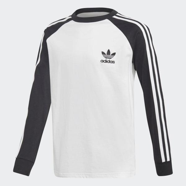 5b623912 adidas California Long Sleeve Tee - White | adidas US