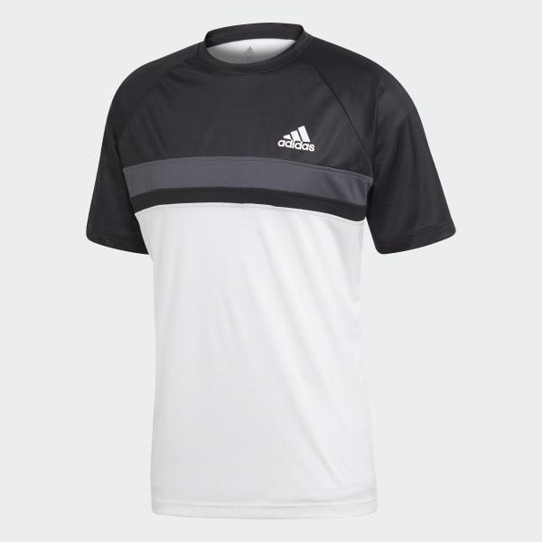 Camiseta Colorblock Club - Preto adidas  f2d7d31f69fe8