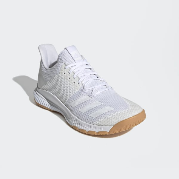 adidas Damen Crazyflight Bounce 3 Shoes Turnschuh, weiß