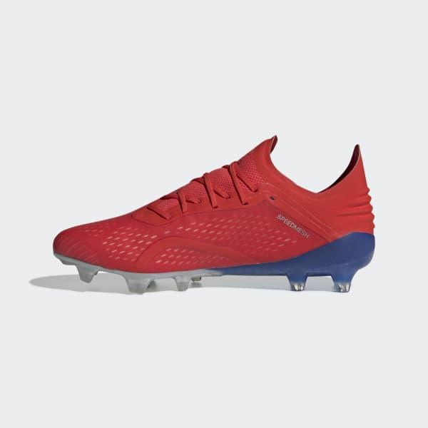 635d832d576fd Bota de fútbol X 18.1 césped natural seco - Rojo adidas