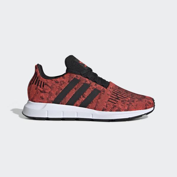 Swift Run Solar Red and Core Black