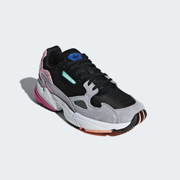c7749110e adidas Falcon Shoes - Black | adidas UK