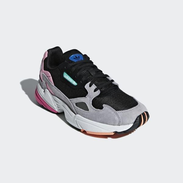 00d2e2a1b adidas Tenis Falcon - Negro