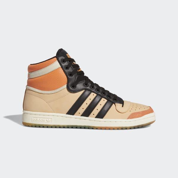 adidas Top Ten Hi J.J. Shoes - Black