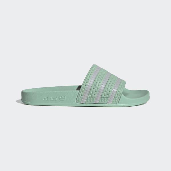 adidas Adilette Slides - Green | adidas US
