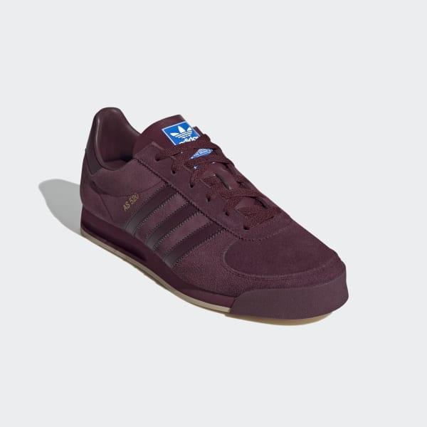 adidas AS 520 Shoes - Burgundy   adidas