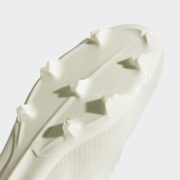 adidas X 18.3 Firm Ground Boots - White  6919f42dc1088