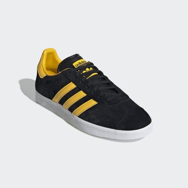 adidas gazelle nere e gialle