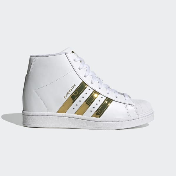 sitio Falange Predecir  adidas Superstar Up Shoes - White | adidas US
