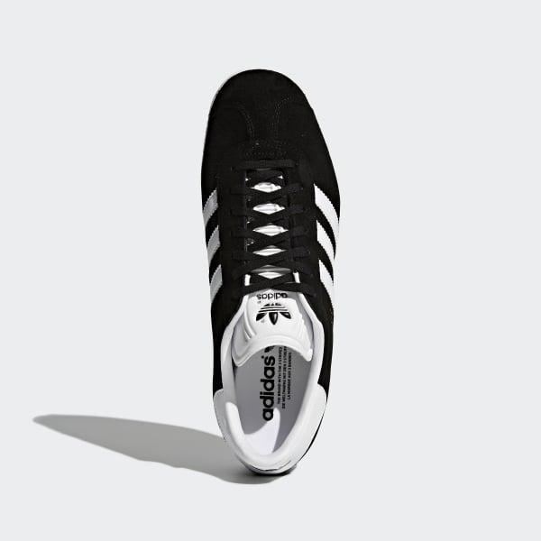 Core Black & Cloud White Gazelle Shoes | BB5476 | adidas US