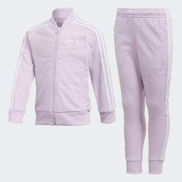 Conjunto Chaqueta y Pantalón Trifolio SST - Azul adidas  3f445d8d594f0