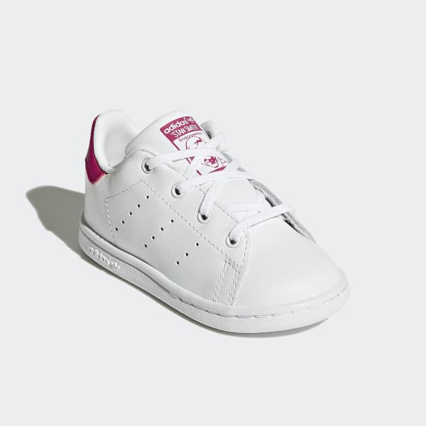 Adidas Stan Smith Infants/toddlers Shoes White/bold Pink Bb2999 High Quality Goods Baby Shoes Clothing, Shoes & Accessories