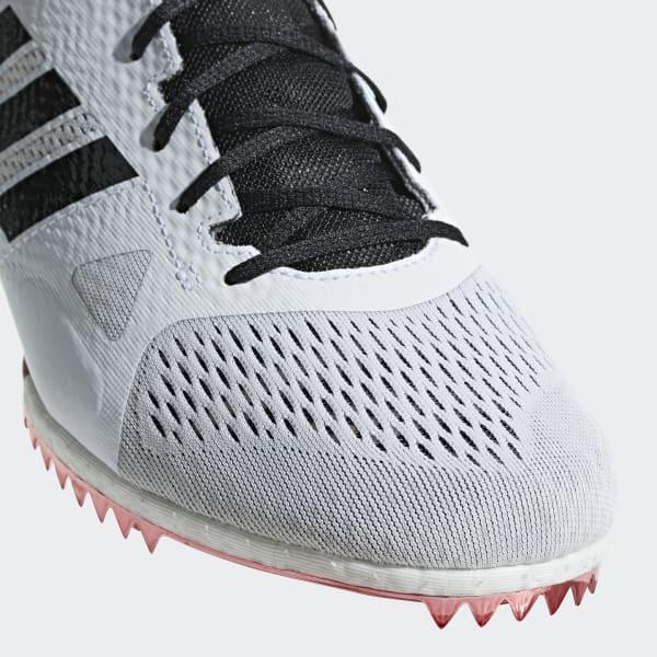 55b1e705d1b adidas Sapatos de Bicos Meio-Fundo Adizero - Branco