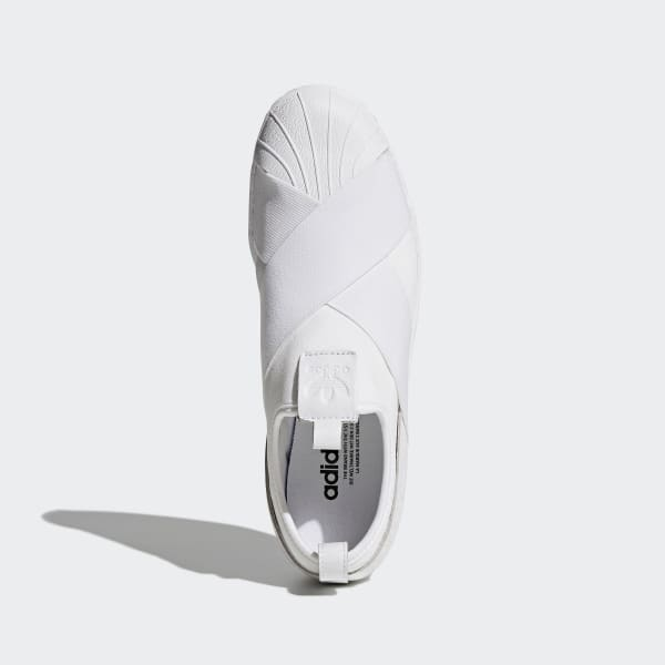 d7261d74ad adidas Tenis Superstar Slip-On - Blanco