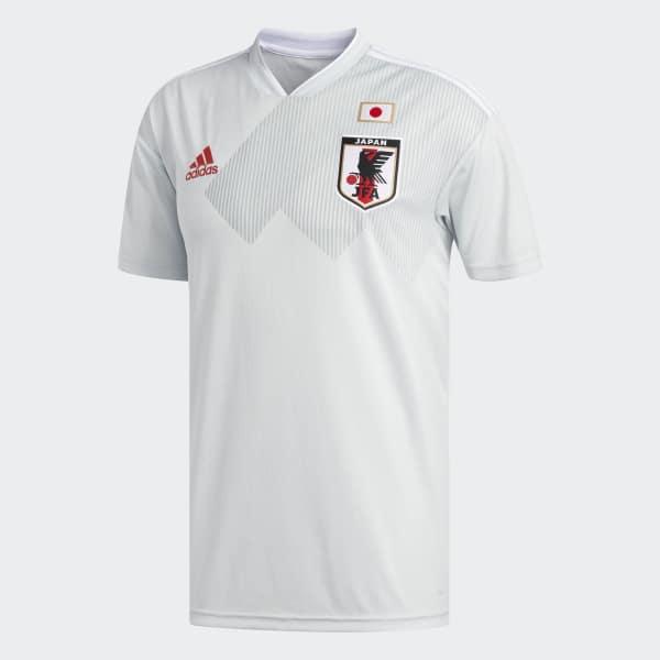 Camisa Oficial Japão 2 2018 - Cinza adidas  3043a793b46c2