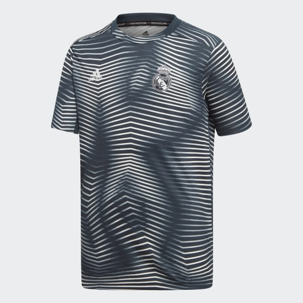sports shoes 6ae75 4a575 adidas Real Madrid Pre-Match Jersey - Grey | adidas UK