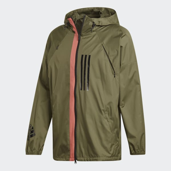 dbb1466fb04c adidas ID WND Jacket - Brown