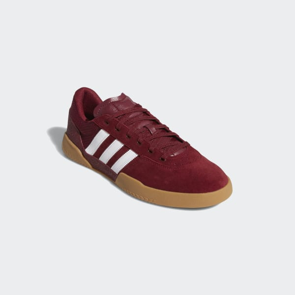 adidas City Cup Shoes - Burgundy